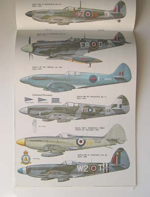 spitfire reference book, 3