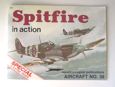 spitfire reference book, 1